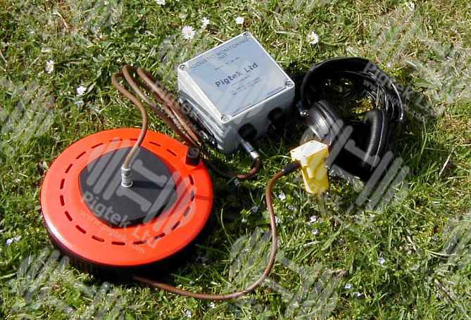 Acoustic Geophone Pig Tracking Equipment