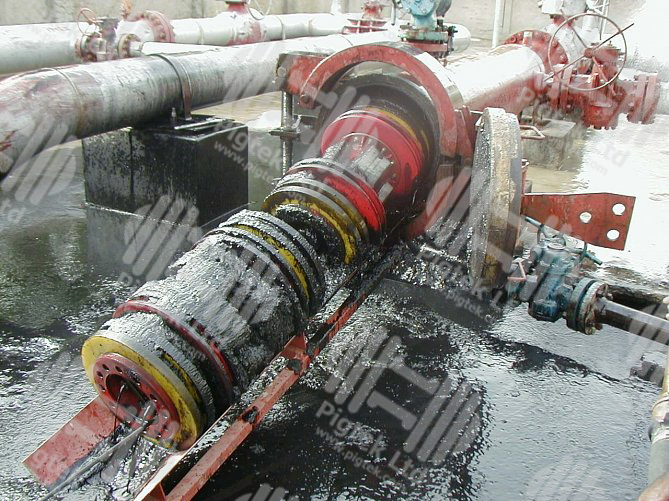 Dual module pigs and articulated for pipeline